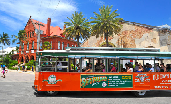 Key West Trolley from £20.00 pp