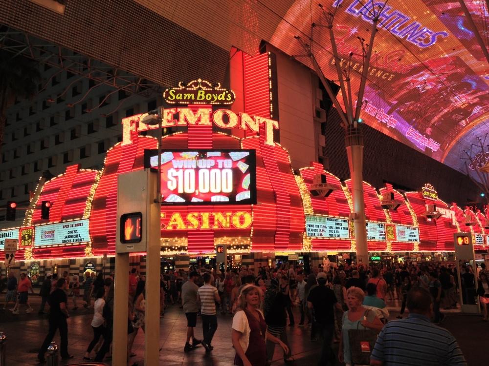 Freemont Street, Las Vegas