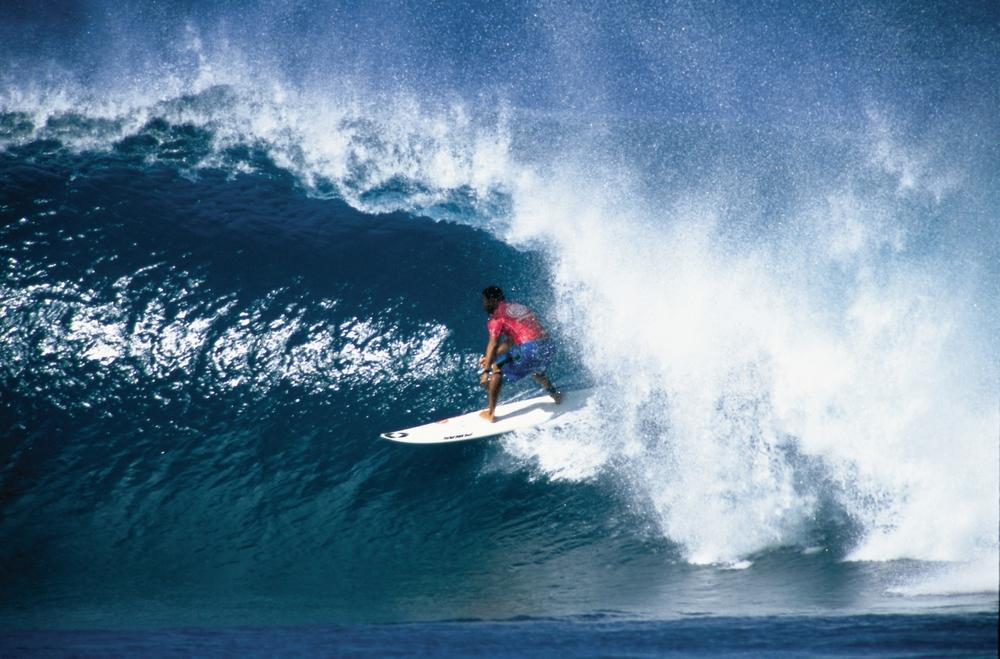Hawaii Tourism Authority ( HTA)/ Kirk Lee Aeder -   Surfer. Oahu's North Shore. Oahu