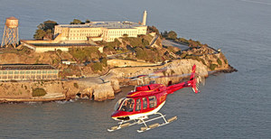 Alcatraz by Helicopter