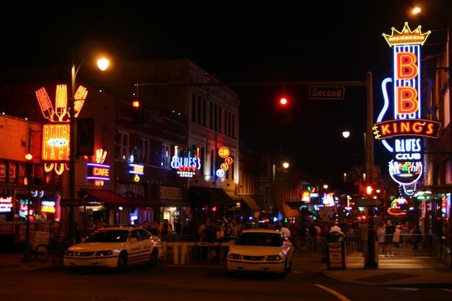 Beale Street Memphis