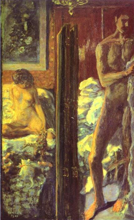 BONNARD The Man and the Woman 1900