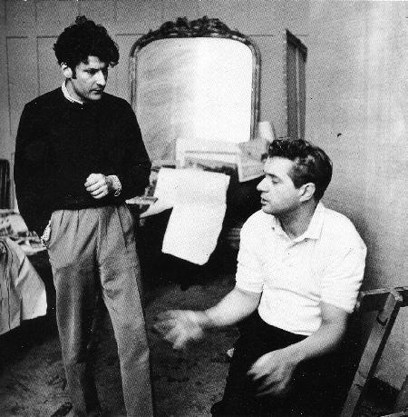 Francis Bacon with Lucian Freud