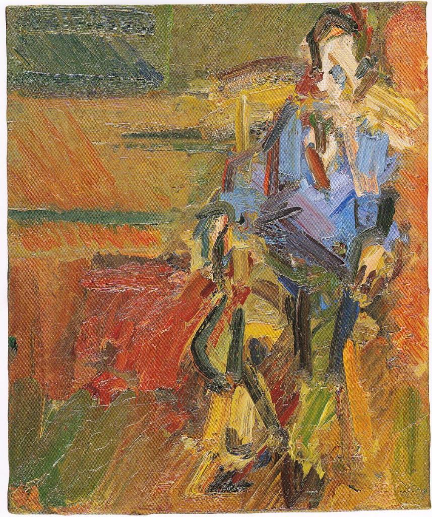 William Feaver Seated, 2004