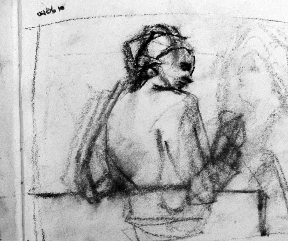 Cafe Figure Study