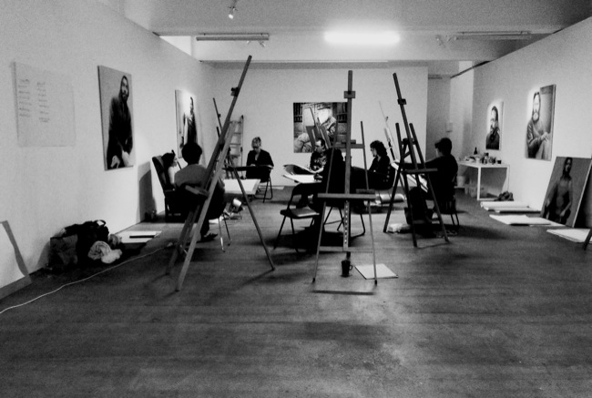 Ruiz workshop Lindberg Galleries
