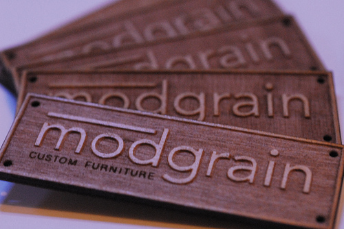 Just spent all afternoon cutting two dozen of furniture tags for Cody of Modgrain Custom Furniture. If you're curious, his furniture looks just as cool as these tags :)