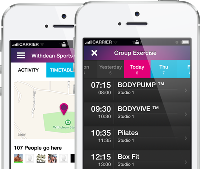 GymJam is a Gym and class finder app for iOS (UK only)