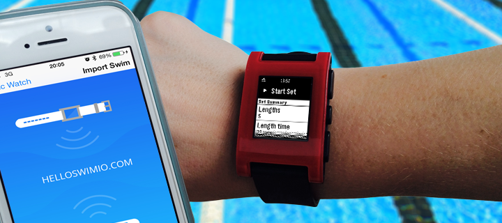 If you have a Pebble and love swimming then give it a try, it's free of charge. Download from Pebble store here and let us know what you think.