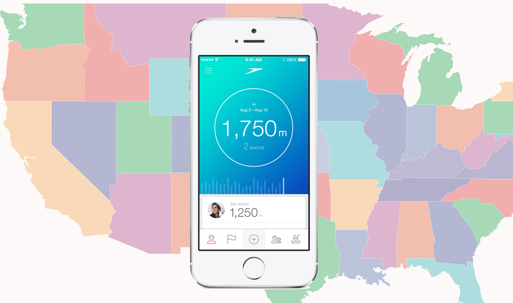 Swim app lands in North America.