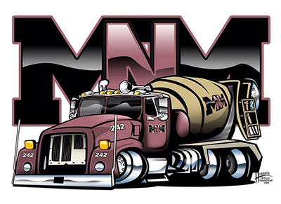 MNM Cement Truck