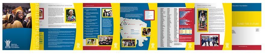 Jeff Hobrath - Henrico Education Foundation Page Layout Case Study