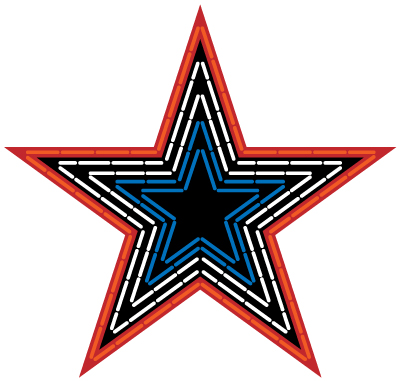 Roanoke Virginia Pride Mill Mountain Star