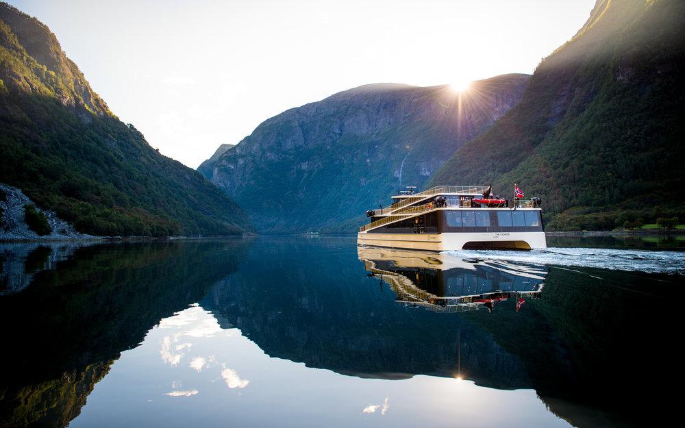 """""""Vision of the Fjords"""" on Nærøyfjorden (Picture: Sverre Hjørnevik)"""