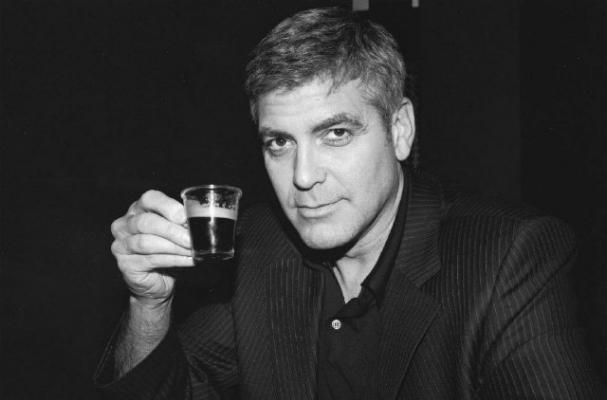 Drink it in Clooney. You're gonna need it.