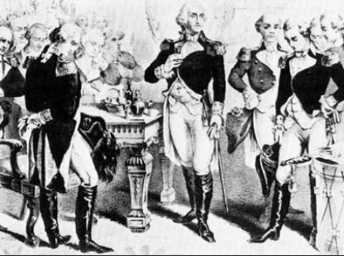 George Washington insisted a barrel of rum be at his 1789 inauguration.