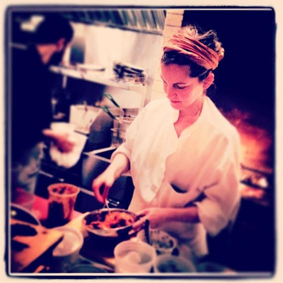 Chef de Cuisine Carolina Santos-Neves. Click the picture to check out Comodo. Photo credit: Talisman Brolin.