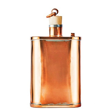 Northbrook Copper Flask via La Matera