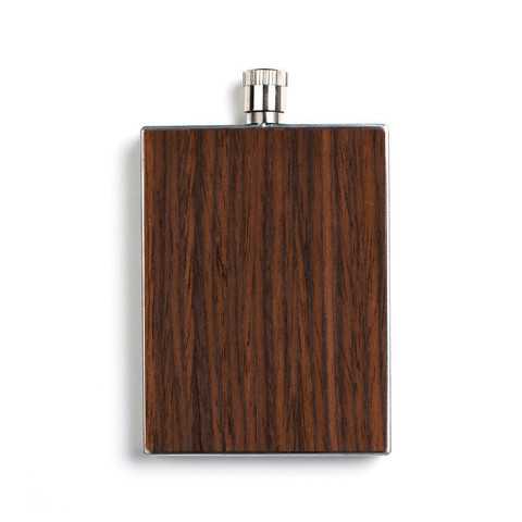 Rosewood Flask via Woodchuck