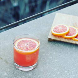 The Blood Orange Rickey