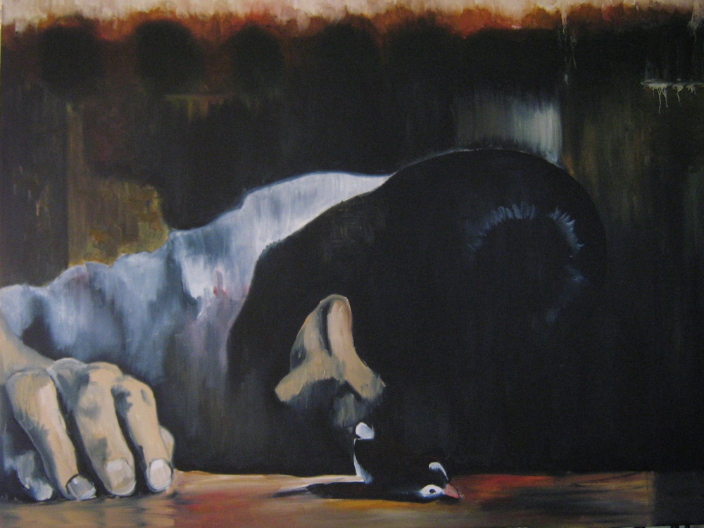 "oil on canvas. 30"" x 40"". 2006."