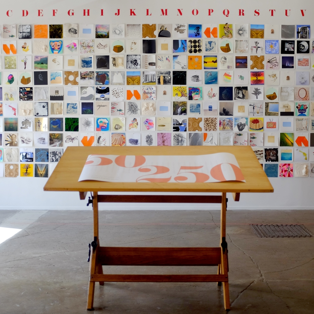 Second biennial Exhibition 50 artists / 250 works