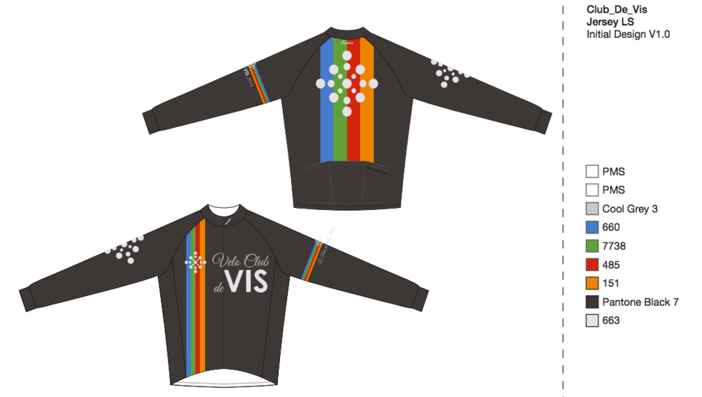Jersey design is subject to change, but will be dominated by club colours and logo.