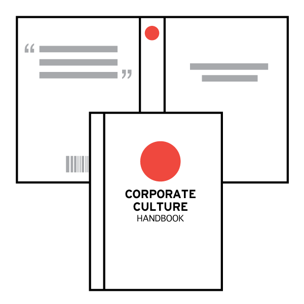CORPORATE CULTURE / EMPLOYEE HANDBOOKS & TEXTBOOK COVERS