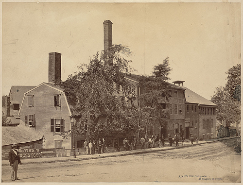 Roessle Brewery, Pynchon St at Roxbury Crossing, via flickr.