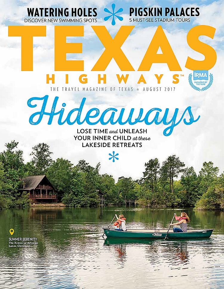 Texas Highways 2017 August Cover