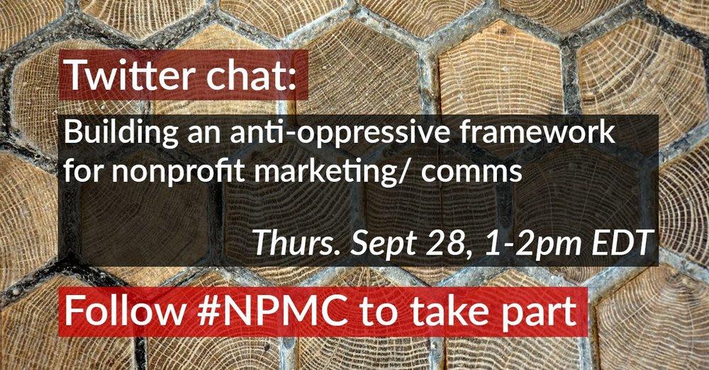 Anti-oppressive Nonprofit Communications