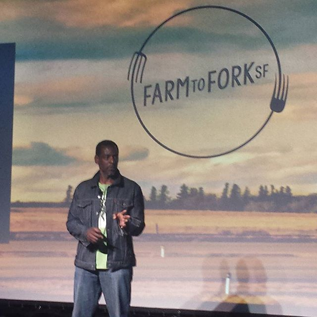 Because of this man, you can plant food on the streets of LA! #ronfinley #farmtoforksf