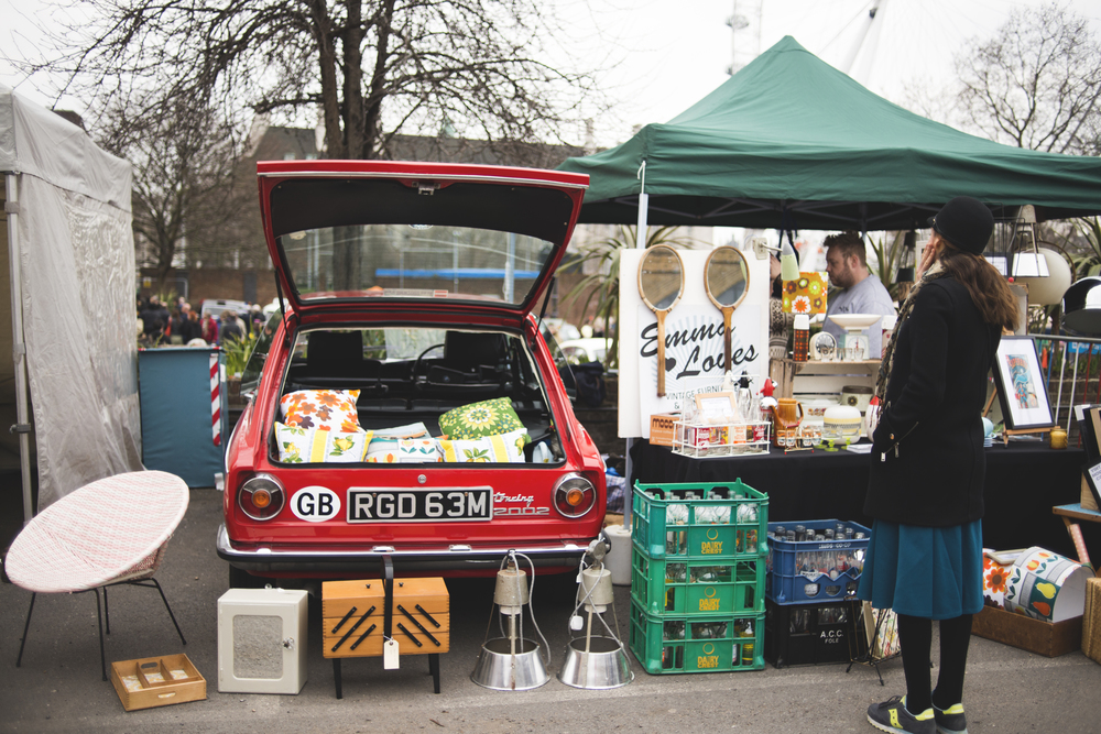 Classic Car Boot Sale - at Southbank Centre :: Blog :: Natural ...
