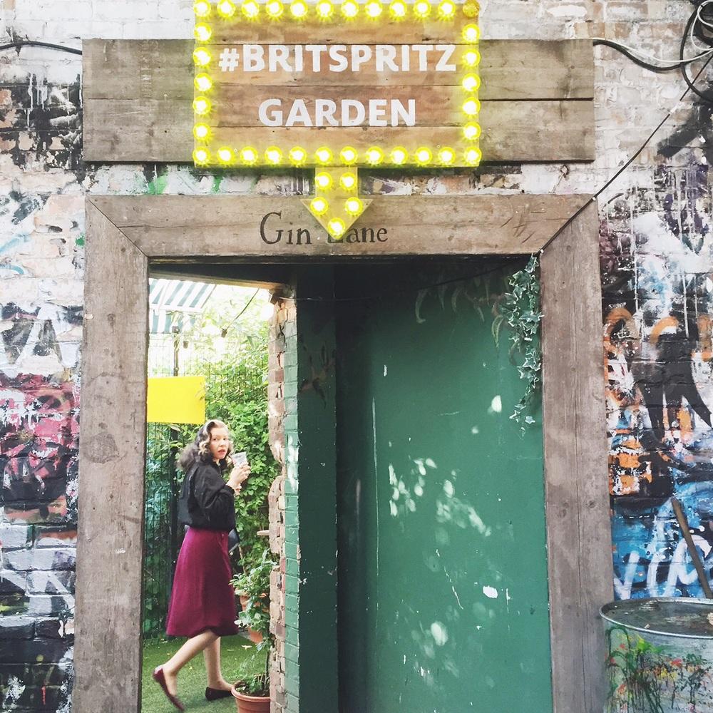 #BRITSPRITZ Garden!