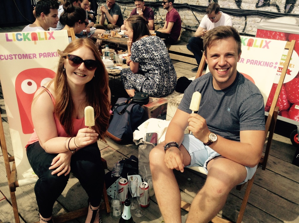 These lovely people are loving their desperado lollies