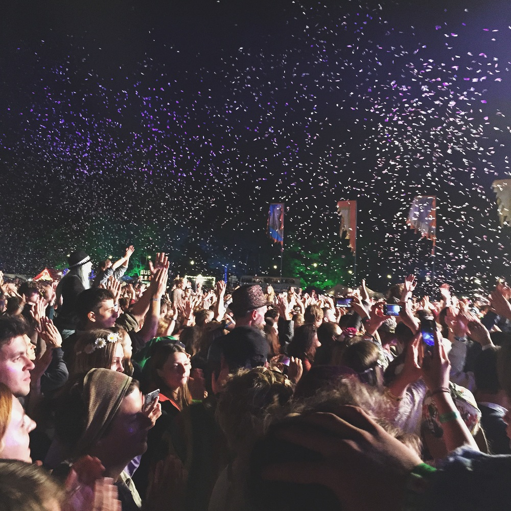 Bombay Bicycle Club showered us in confetti