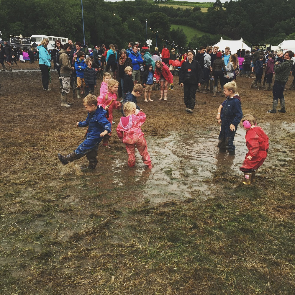 It may have poured down with rain for most of the time but that didn't dampen our spirits!