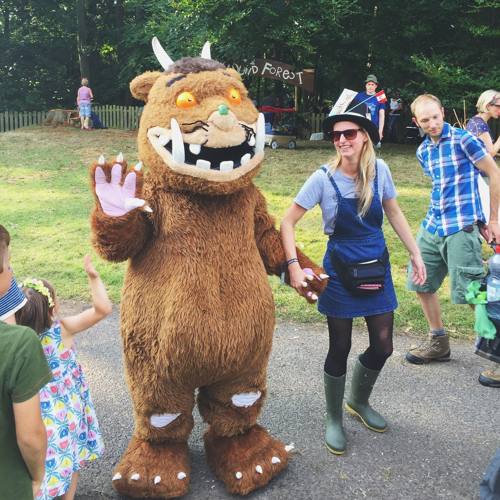 Yes, that's a Gruffalo!