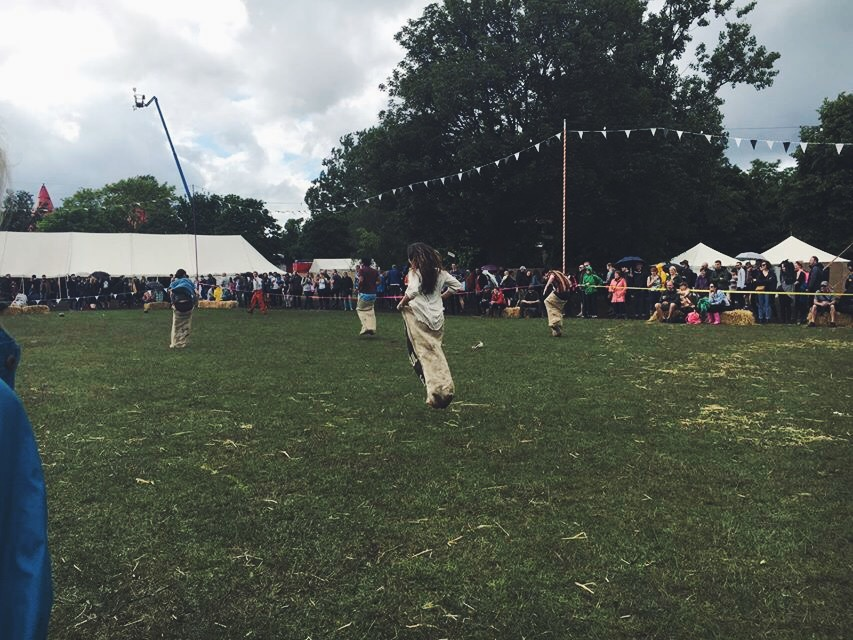 You couldn't get bored at FieldDay! The festival provided festival-goers with many different activities and games!