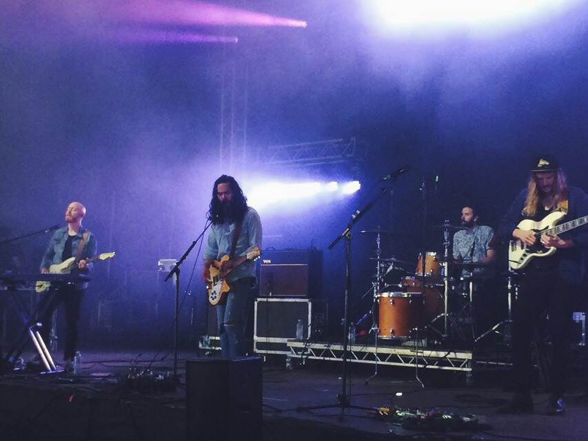 The Temper Trap were one of the many bands that played on FieldDay!