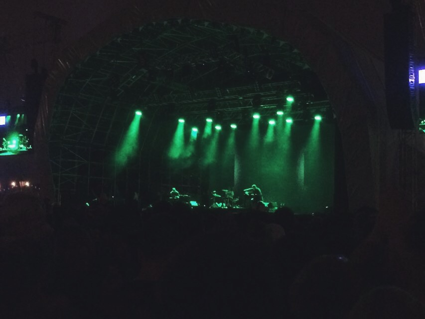 James Blake also played and the LICKALIX ladies had the opportunity to watch him play live.