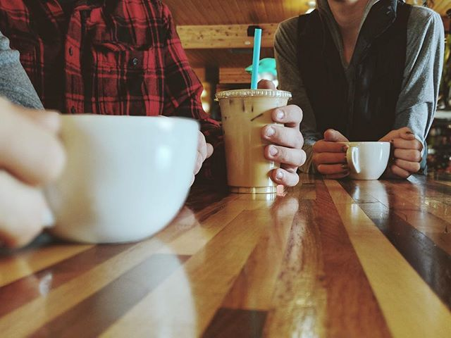 Hang with friends, sip coffee, repeat.