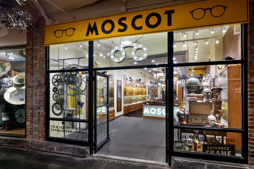 Moscot in Chelsea Market