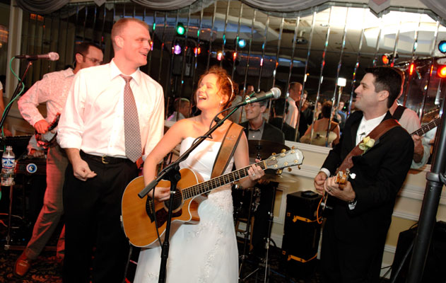 This Bride and Groom were rock stars at their wedding!