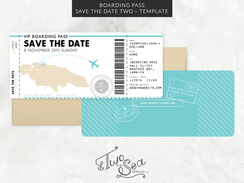 Wedding Design Template Shop — TWO IF BY SEA STUDIOS