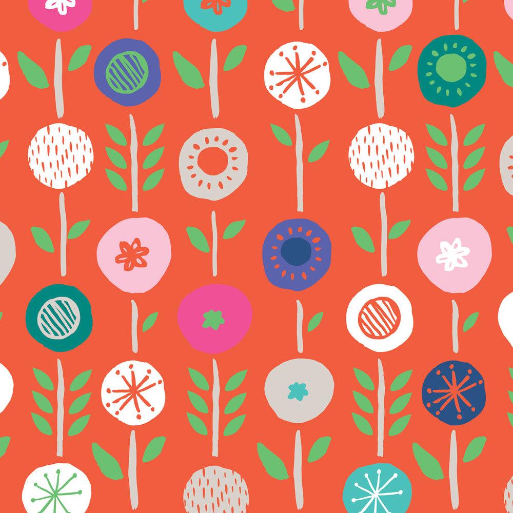 Pink & Inca Pattern 13