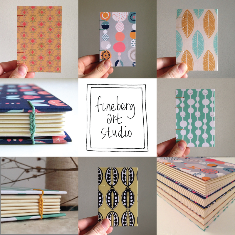Follow Fineberg Art Studio on Instagram for a sneak peek into her process & books!