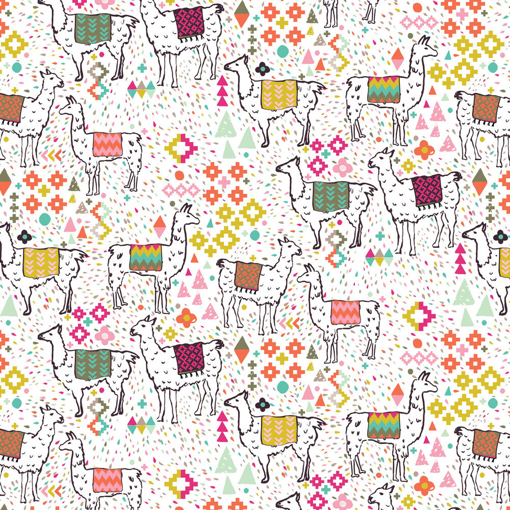 Pink & Inca Pattern 21