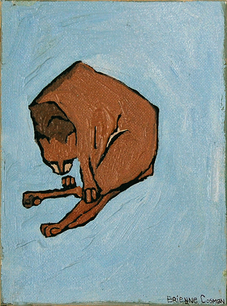 Bad Cat Blue-Sold