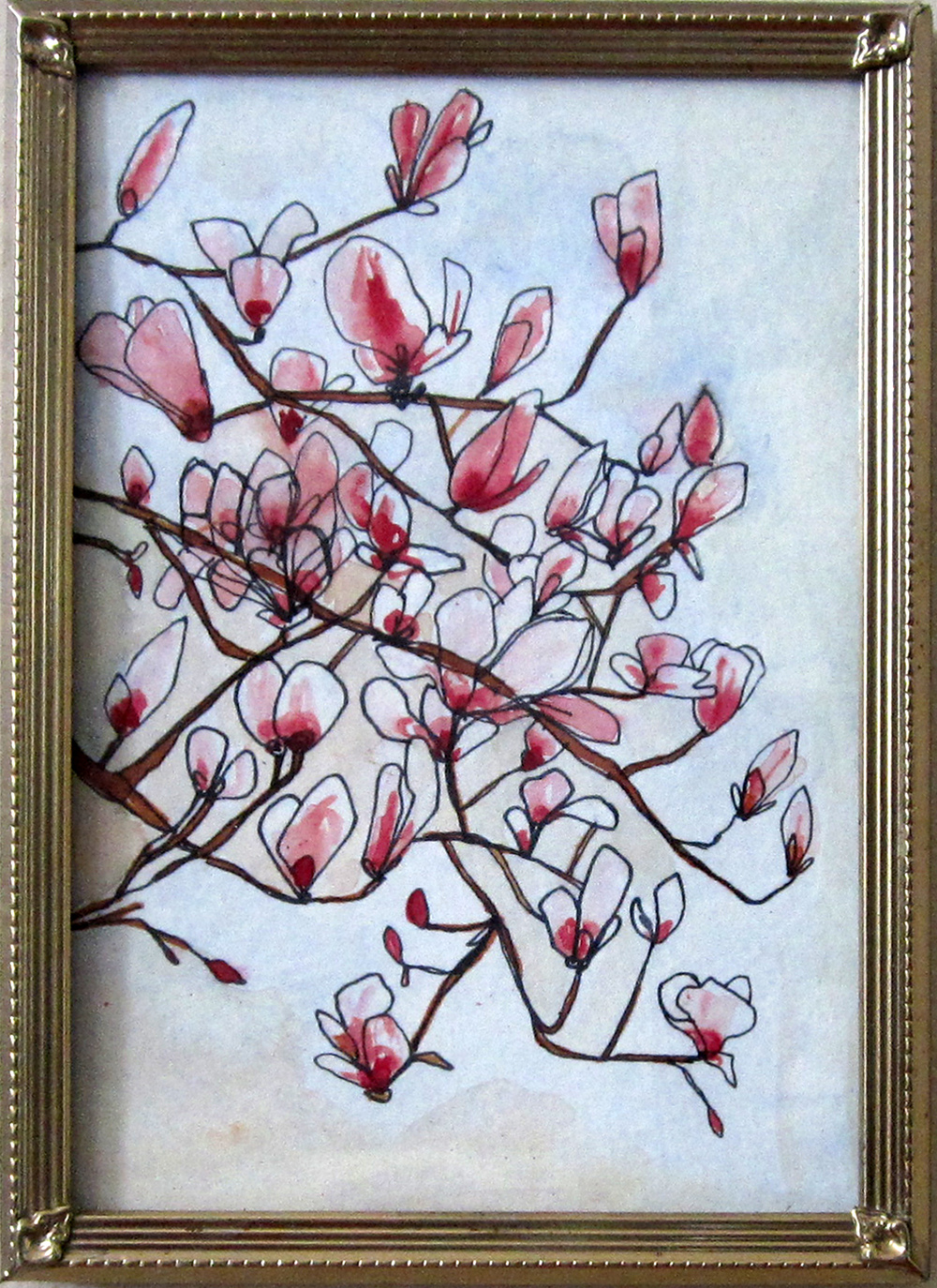 21: Magnolias in Bloom-sold
